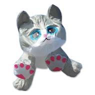 8 Ft. Gray Tabby Kitten