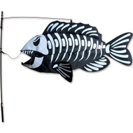 Swimming Fish - Fishbones Fish