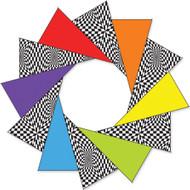 80 Inch Rainbow Op-Art F-Stop