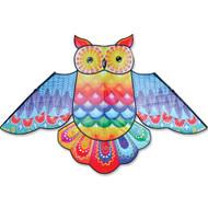"""70"""" Rainbow Owl Bird Kite"""