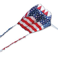 Killip 20 Foil Kite - Patriotic with 50 Ft. Fuzzy Tail