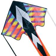 Zephyr Kite - Rainbow Geometric