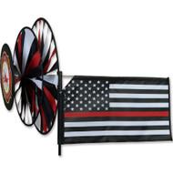 Triple Spinner - Thin Red Line - Fireman