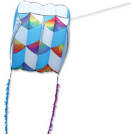 Killip 20 Foil Kite - Rainbow Cubes with 50 Ft. Fuzzy Tail