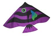 Damsel Zebra Fish Kite - Plum - Joel Scholz