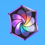 Rainbow Focus -  Rokkaku Kite