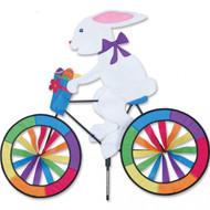 Biker Lawn Spinner - Bunny
