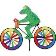 Biker Lawn Spinner - Tree Frog
