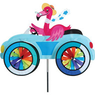 Car Lawn Spinner - Flamingo