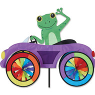 Car Lawn Spinner - Frog