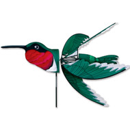 "Lawn Spinner - 37"" Ruby Throated Hummingbird"