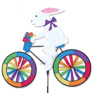 Lawn Spinner - Bunny On A Bike
