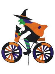 Lawn Spinner - Witch on a Bike