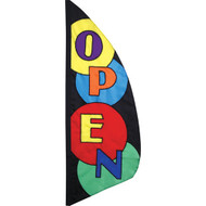 Open 8.5' Feather Banner