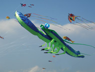 Lobster Inflatable-Blue/Green