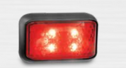 35RM - Rear End Outline Marker Multi-volt Single Pack. AL. Ultimate LED.