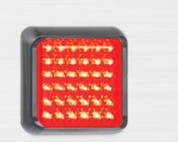 80RM Stop / Tail Single Function light Multivolt 12-24v, Single Pack