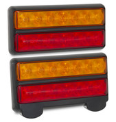 207BARLP2 - Stop, Tail, Indicator & Licence Plate Lamp 12v Twin Pack. Ultimate LED. (Inactive)