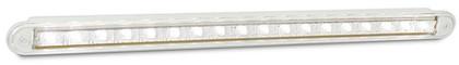 380W12 Reverse 12v Single light Clear Lens. AL. Ultimate LED.