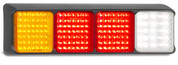 100BARRWM Stop - Tail - Indicator - Reverse Multi-volt 12-24v Single Pack. AL Ultimate LED