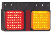 125BARMR Stop - Tail - Indicator - Reflector Multi-volt 12-24v Single Pack. AL Ultimate LED.