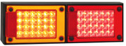 J2BARM - Stop Tail Indicator with Reflectors Multi-volt Single Pack. AL. Ultimate LED.
