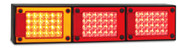 J3BARRM - Stop Tail Indicator with Reflectors Multi-volt Single Pack. AL. Ultimate LED.
