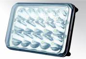 RHL168 Roadvison High Low Beam LED Headlight. 165mm Rectangle