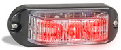 90RM - Emergency Lamp Red Clear Lens Multi-volt Single Pack. AL. Ultimate LED.
