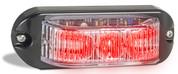 90RM - Emergency Lamp Red Clear Lens Multi-volt Single Pack. AL. Ultimate LED.