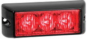 93RM - Emergency Lamp Clear Lens Red Multi-volt Single Pack. AL. Ultimate LED.
