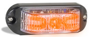 90AM - Emergency Lamp Amber Clear Lens Multi-volt Single Pack. AL. Ultimate LED.