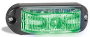 90GM - Emergency Lamp Green Clear Lens Multi-volt Single Pack. AL. Ultimate LED.