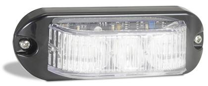 90WM - Emergency Lamp White Clear Lens Multi-volt Single Pack. AL. Ultimate LED.