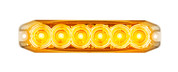 120035AM - Emergency Lamp Strobe Amber Clear Lens Multi-volt Single Pack. AL. Ultimate LED.