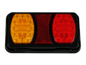 Tail Lights x 2. Twin Pack. 228RV. Compact LED Tail Light. Stop, Tail Indicator Lamp with built-in Reflectors. Quality, Tough Light. Caravan Friendly. Multi-Volt 12 & 24 Volt Systems. BR100AR. Twin Module LED Light.  Truck, Trailer, Ute or Caravan Tail Light Assembly. Built-in Reflector. Great Quality Tail Light. Weather, Vibration and Dust Proof. Ultimate LED
