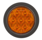 113AMG - Round Indicator Light. Multi-volt Single Pack. AL. Ultimate LED.