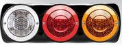 Roadvision BR170ARWB. LED Stop, Tail, Indicator & Reverse Light with Black Surface Mount Bracket.