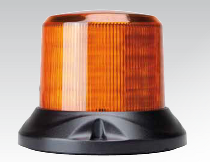 Amber Safety Rotation and Strobe LED Beacon. Magnet Mount.  Maxi Revolver, 15 watts RB167MY. Class 1 Certified .