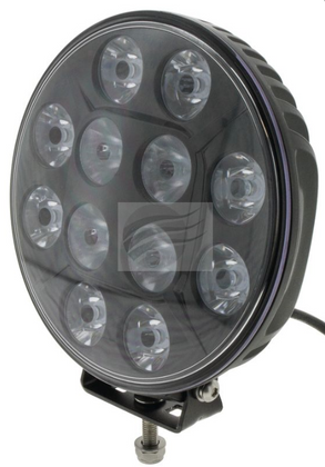 "IDL1205BRD - Combined Spot and Flood Beam Driving Light 7""  Multi-volt Single Pack. CD. Ultimate LED."