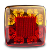 98BAR2 - Stop Tail Indicator light 12v Twin pack. AL. Ultimate LED.