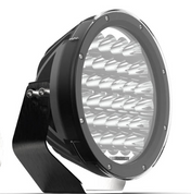 Roadvision Dominator EXTREME 9 inch Driving Light. Spot Beam. 150 watt, 10500 Lumens per light. 900m of light. Our customers feedback is - Assume Driving Lights.