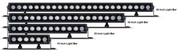 Roadvision Rollar Series 10 inch Combination Light Bar