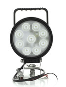 IWL9327F - Flood (Spread) Beam with Handle and On/Off Switch. 27 Watt Multi-volt 135mm Round. Ignite. CD. Ultimate LED.