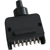 7 PIN TRAILER PLUG MALE FLAT (Trailer Plug)