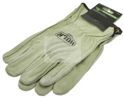 HU1043 - Leather Rigger Gloves, 4x4 Recovery Gloves. HULK. CD. Ultimate LED.