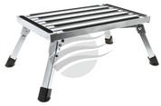 HU1600 - Single Caravan Step. Folds Flat For Easy Storage. HULK. CD. Ultimate LED.