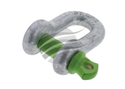 HU2008 - D Shackle 8mm Twin Pack. HULK. CD. Ultimate LED.
