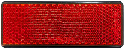 Rear Red Reflector Twin Pack
