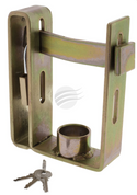 HU2000 - Trailer Coupling Lock. Includes Padlock and 3 Keys. HULK. CD. Ultimate LED.